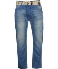 74a9e550ba1 Lee Cooper Belted Jeans Mens