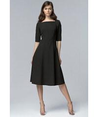 NIFE Dámské šaty Follow černá 6419d140c75