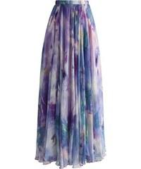 801aac0cf4a CHICWISH Dámská sukně Maxi Věčná romantika