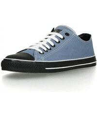 e3e00d77f67 Ethletic Fair Trainer Black cap Lo cut Collection tenisky - světle modrá  pale denim černá