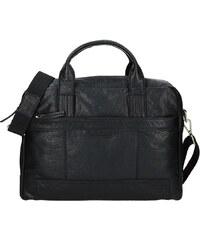 835961ea0e Pánská kožená taška přes rameno Lagen Dante - černá