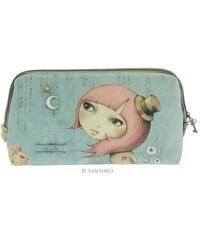 73ffd530c Santoro London - Kosmetická taška - Mirabelle - Adrift Pastelově šeda modra