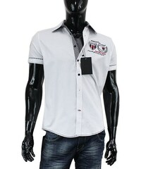 ecdc509c894e CARISMA košeľa pánska 9018 krátky rukáv slim fit