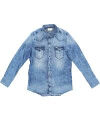 Tmavě modré dívčí košile - Glami.cz adf17e6b05