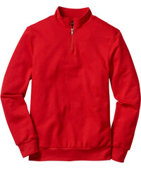 bpc bonprix collection Herren Troyer-Sweatshirt langarm in rot für Herren  von bonprix b85b6c4495