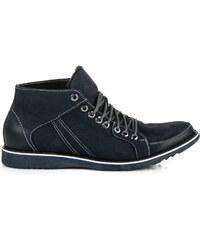 110ae5d565d LUCCA Modré kotníkové boty v casual stylu