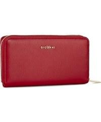 Nagy női pénztárca GIOVANI - CE-172-D Czerwony L Matowy 586bc07698