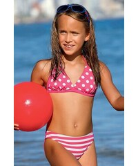 935fa4e4b73 LORIN Dívčí plavky Dot DP2 růžová. 589 Kč