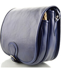 b659114497 Silvercase - Sněžka Náchod Klopnová lovecká kožená taška Silvercase - modrá