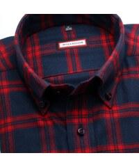 Willsoor Pánská slim fit košile (výška 176-182) 7067 v modré barvě s 716ac34208