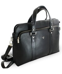 9d72da2d5b Arwel Černá kožená business taška na notebook Catalina
