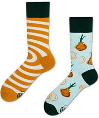 fb939da8495 Many Mornings Oranžovo-modré ponožky Onion Rings