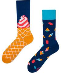 Many Mornings Modro-oranžové ponožky Ice Cream Dream 9bbdc4beb4