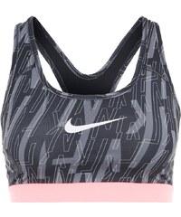 Nike Performance PRO CLASSIC Soutiengorge de sport blacklava glowwhite