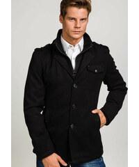 Černý pánský kabát Bolf 8853 3b66836edb1