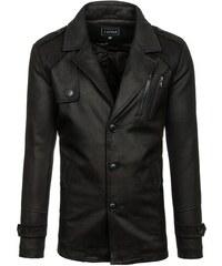 Čierny pánsky zimný kabát BOLF 3135 19817f64372