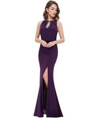 01b9ce194186 Ever Pretty plesové šaty fialové zdobené kamínky 8383