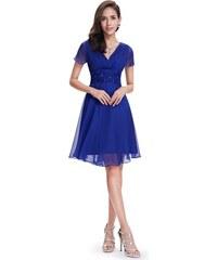 4189064d7dd2 Ever Pretty letní šaty krátké modré 3882