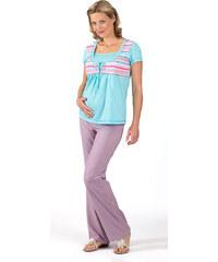 94f6d409f8e Těhotenské a kojící tričko Rialto DUVY modrá pruh 0058