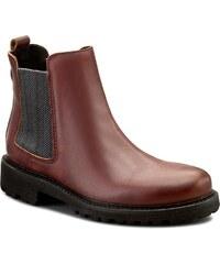 Kotníková obuv s elastickým prvkom TOMMY HILFIGER - DENIM Bedford 7A  EN56821923 Cabernet 640 20f60af4613