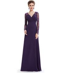 Šaty Ever Pretty plesové šaty fialové 8692 8ead08bfa0