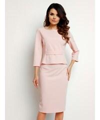 81c46eed72aa Čierno-ružová pruhovaná puzdrová sukňa Noisy May Lina - Glami.sk
