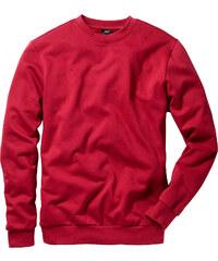 bpc bonprix collection Herren Sweatshirt, Regular Fit langarm in rot für Herren von bonprix