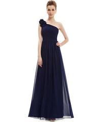 308b7dc5828 Ever Pretty modré společenské šaty