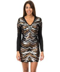 Mini šaty s dlouhým rukávem 1cf5e8ff1c1