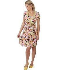 Tehotenské šaty na dojčenie RIALTO LOISON - farebné kvety 1632 104dc49f8ac