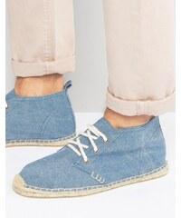 Soludos Chaussures chukka style espadrilles Bleu