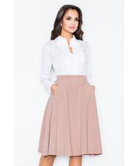 873b54d5d49 Figl Růžovo-béžová sukně M317