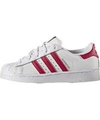 adidas originals superstar 80s baskets basses blush pink/offwhite