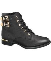 e879e4810a Deichmann - Graceland Šněrovací obuv s přezkami