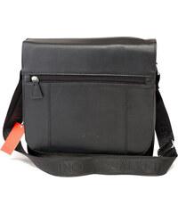 127128aaed WILD collection Malá pánská kožená taška světle hnědá - WILD Ethan ...