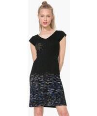 šaty Desigual Elqui negro d6c52d3fcdb