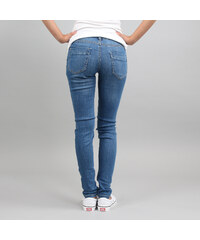 5339c17dfb6 Urban Classics Ladies Ripped Denim Pants blue washed