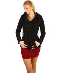 Glara Krátky vlnený kabátik s hadím vzorom 8094b060f66