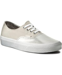 b34d8c27d4a Tenisky VANS - Authentic Decon VAN038EPMRK (Metallic Silver) Canvas