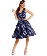 Dolly and Dotty retro šaty May tmavě modré 0ecbbc7c6c