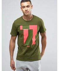 Nike F.C. 831699 331 T shirt à imprimé nombre Vert