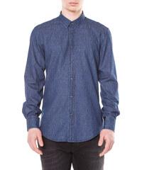 f606fa5d00f Košile ze 100% bavlny od Fred Perry (tmavě modrá) Pouze S - Glami.cz