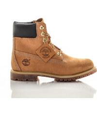 Dámske vodeodolné hnedé kožené zimné topánky Timberland ICON 6-INCH Premium 74e45ba122