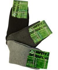 36894ca85f1 Pesail Zdravotní bambusové ponožky dámské 3páry
