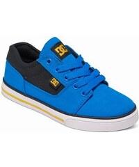 DC Shoes Dětské boty DC Tonik Tx Se blue black gray 285d4fbf82