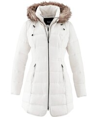 Bílé dámské kabáty s kapucí - Glami.cz a6aaac4346