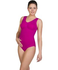 belly cloud Damen Body figurformender seamless Body mit V-Ausschnitt