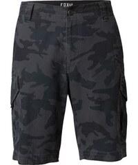 Pánské kraťasy Fox Slambozo Cargo Short black camo ca830ee704