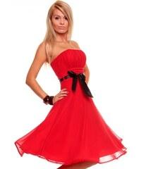 1bb63d595e18 Luxusní červené šaty na ples