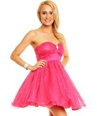 1e4f1286281 Korzetové růžové šaty pro pravou princeznu